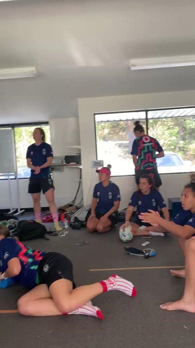 Image for the Tweet beginning: @NZWarriors Well done girls. Great