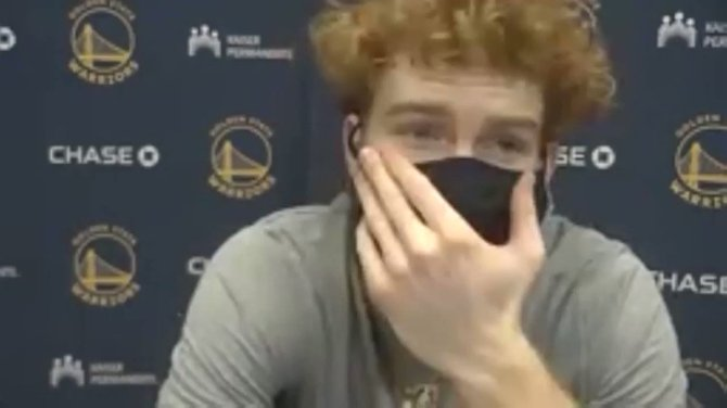 "Nico Mannion on Jeremy Lin being called ""CoronaVirus"" while on the court down at the GLeague Bubble.   Said it took a lot of courage, and didn't mention the players name who said it when he could have. Team had conversation about it in the locker room. @kron4news"