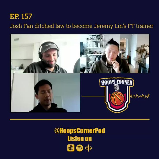We spoke with @jwafan about his start with @jlin7. He talked to us about leaving law to pursue a once in a life time opportunity! #HoopsCorner  https://t.co/PIEnhuZogP