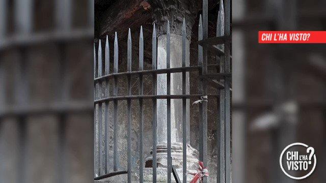 Chi ha portato via la colonna dal Sepolcreto Salario a #Roma? Per prelevarla dal…