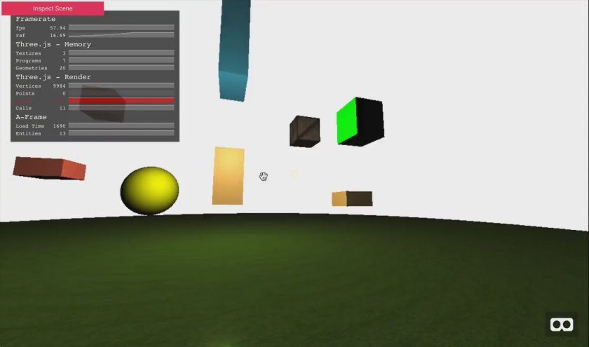 aframe-inspector by @aframevr: Inspect and modify Aframe 3D scene graphs.   #reactjs