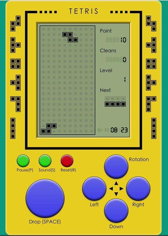 react-tetris: Tetris with fantastic retro graphics and sound design  #reactjs