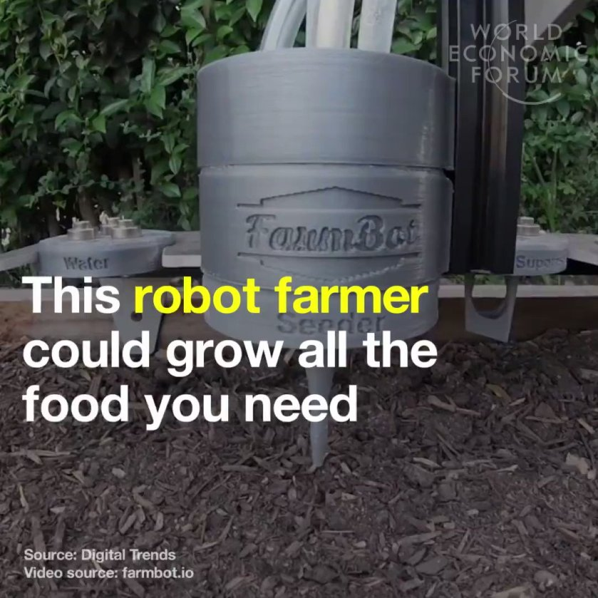 This robot can grow all the food you need, on your roof terrace. Read more: