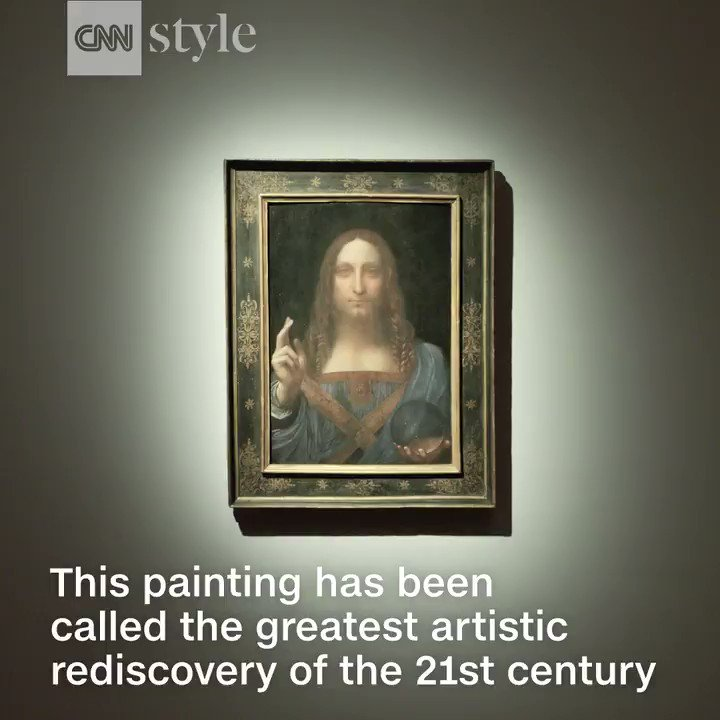 This rediscovered Leonardo da Vinci painting is expected to fetch $100 million