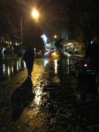 Foursquare CEO Shares Hurricane Sandy Adventures