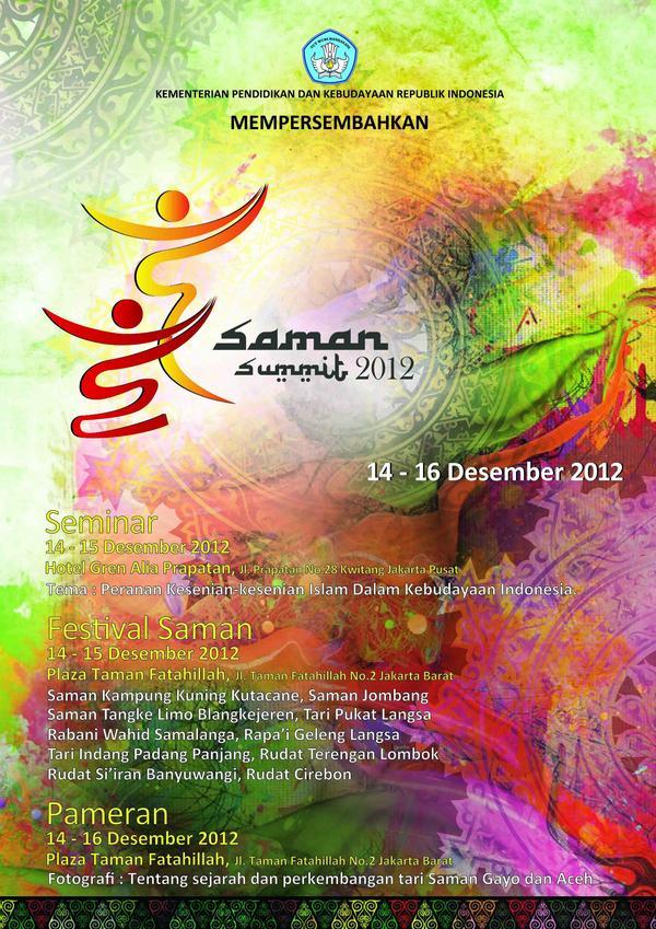 Saman Summit 2012 di Jakarta