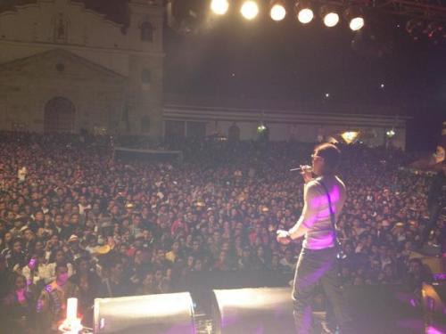 Un total éxito el Show de pipe calderon en Choachi Cundinamarca