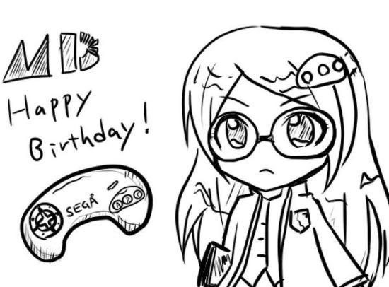 Mega Drive Hard Girl 26th Birthday by ys1126