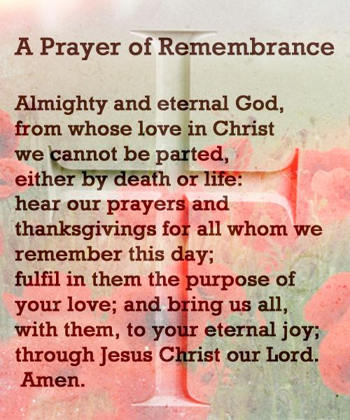 A Prayer Of Thanksgiving And Remembrance On Veterans Day
