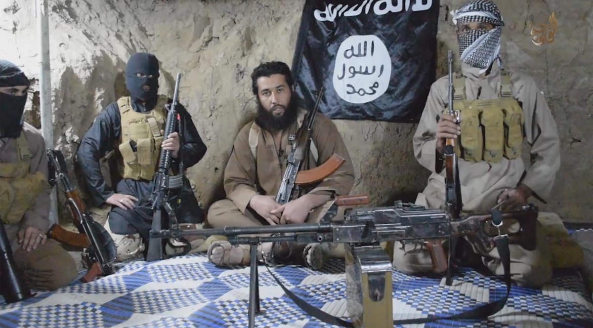 "ISIS commanders in cave. Sounds familiar. Revelation 6:15-17, ""And the kings of the earth, the great men, the rich men, the commanders, the mighty men, every slave and every free man, hid themselves in the caves and in the rocks of the mountains, and said to the mountains and rocks, 'Fall on us and hide us from the face of Him who sits on the throne and from the wrath of the Lamb! For the great day of His wrath has come, and who is able to stand?'"""
