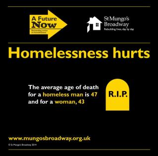 Image result for average age of death for homeless