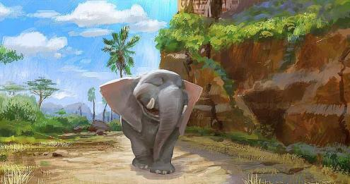 Concept Art from Elephant