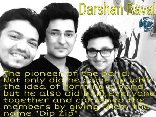 Image result for darshan raval dip zip band