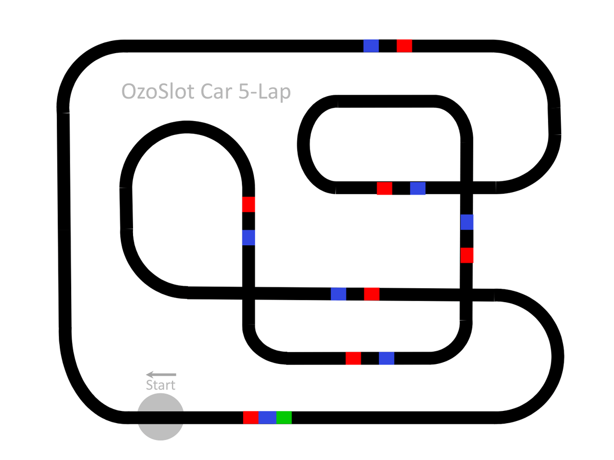 Ozobot On Twitter Race Your Ozobot On This Slot Car