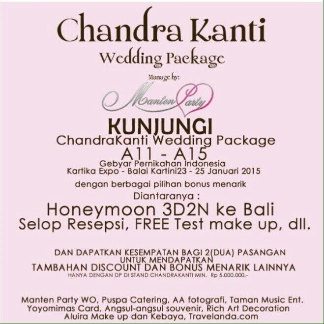 Balai Kartini Wedding Package 2