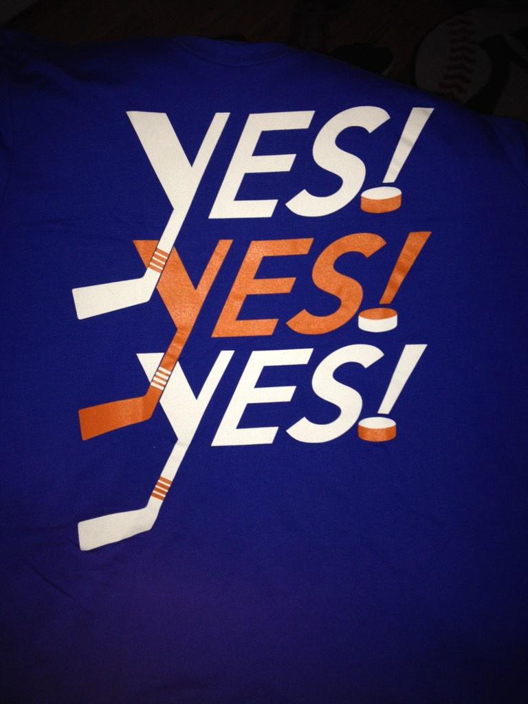 NY Islanders Make A Daniel Bryan Inspired Shirt
