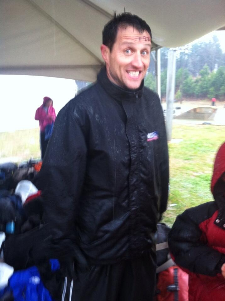 Colleen Odegaard On Twitter My Stud Husband About To Do The Spartan Race Its Cold And Its