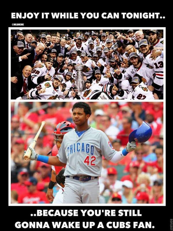 Mlb Memes On Twitter Chicago Sports Fans Coming Back To Reality
