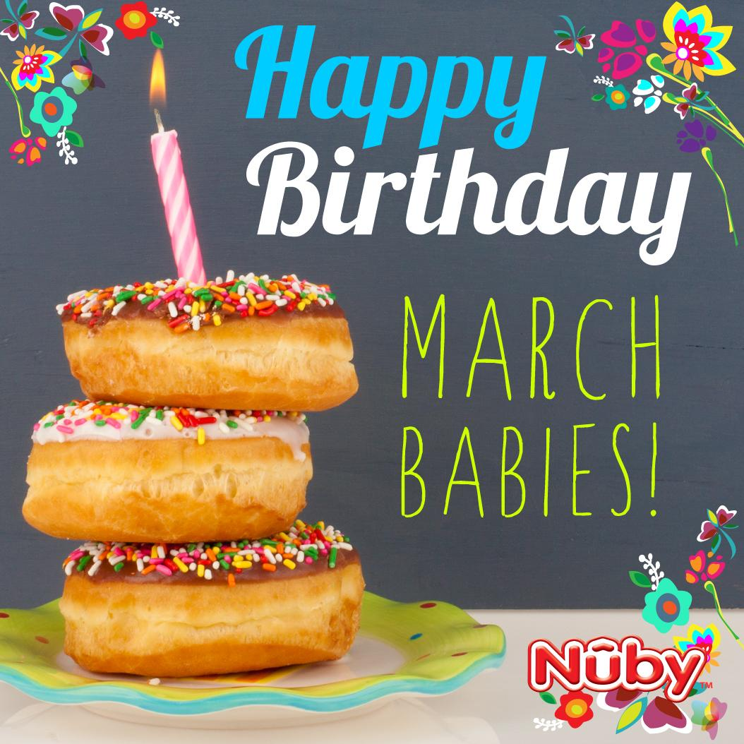 Nubyusa On Twitter Happy Birthday To All The March Babies Rt If Your Little One Was Born In March Http T Co Nd8lizcfgv