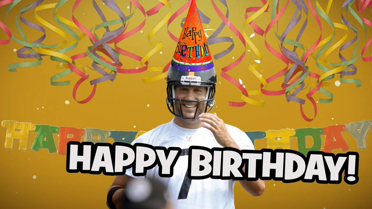 Pittsburgh Steelers On Twitter Check Out A Special Happy Birthday Message To Bigben7 From All Of Steelersnation Watch Http T Co Eynjduv3s6 Http T Co Woetg8mrqm