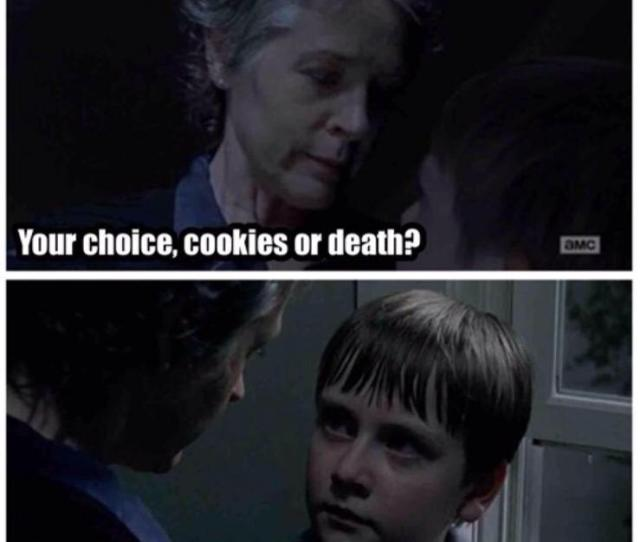 Insomnia Cookies On Twitter Our Favorite Thewalkingdead Meme If You Dont Trust Carolscookies Order From Us T Co Lqkekiom