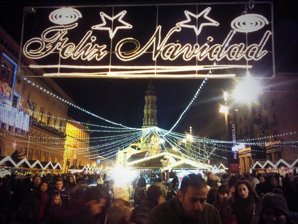 Mercado Navidad - Zaragoza