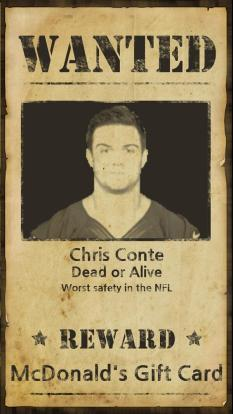 Image result for chris conte wanted poster