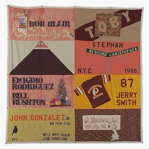 Image result for jerry smith redskins aids quilt