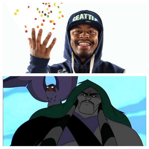 Marshawn Lynch Shan Yu From Mulan Both Beastmode