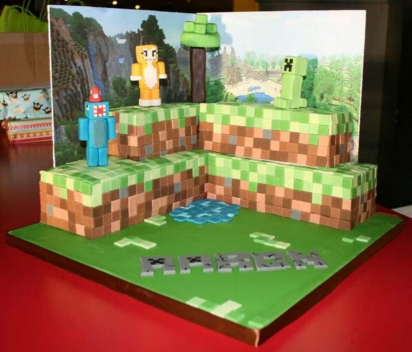Minecraft Birthday Cake Edible Images The Best Cake Of 2018
