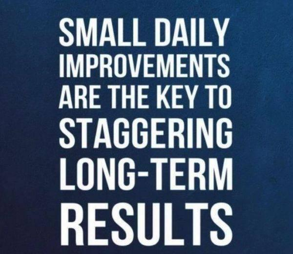 Image result for small and consistent progress
