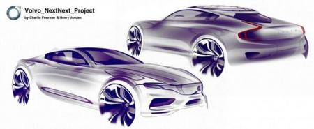 Car Body Design on Twitter   Daily Sketch  Volvo NextNext Project by     Car Body Design on Twitter   Daily Sketch  Volvo NextNext Project by  Charlie Fournier and Henry Jordan http   t co FZ26fEzuDh  http   t co Cse8W26kgs