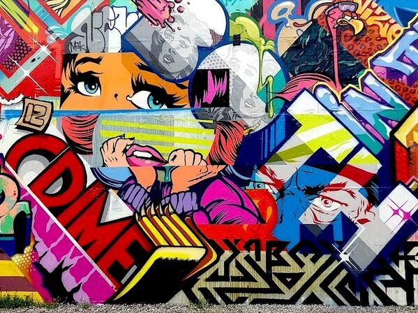 Uzivatel Hothead Studio Na Twitteru Wall Collage Graffiti Streetart Art Funky Dope Http T Co Dhmcednz9e