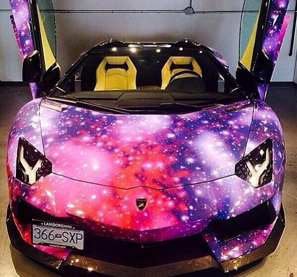 Job Paint Lambo Galaxy