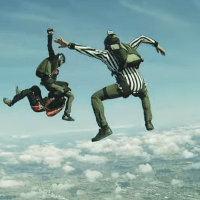 Full Contact MMA Skydiving