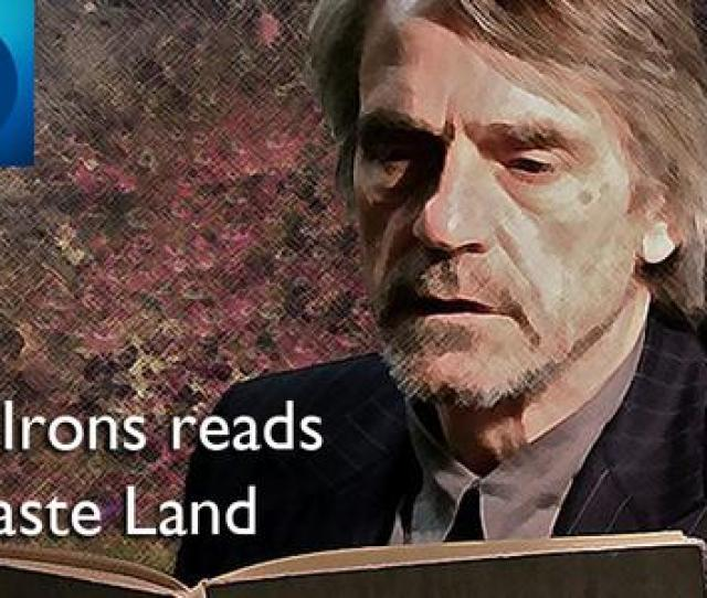Bbcradio The Waste Land By T S Eliot Read By Eileen Atkins Jeremy Irons Listen Bbc In Pbdm Pic Twitter Com Xnqiurpmewonder