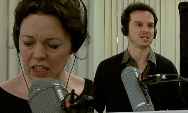 """Radio Times on Twitter: """"Check out Andrew Scott and Olivia Colman behind  the scenes on Locke in this exclusive video http://t.co/J3tJArjuQH  http://t.co/NNf3CskWHJ"""""""
