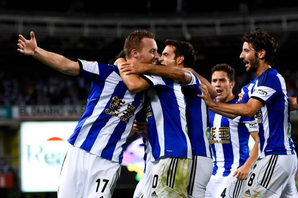 Real Sociedad completed a remarkable comeback against the European champions