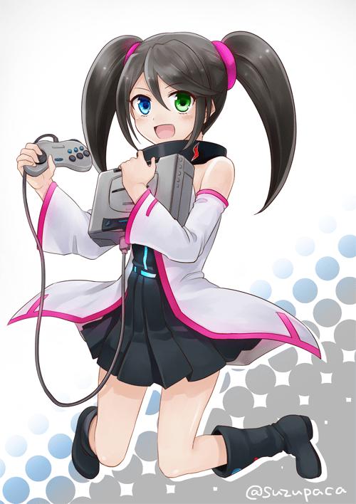 SEGA Saturn Hard Girl by Suzupaca