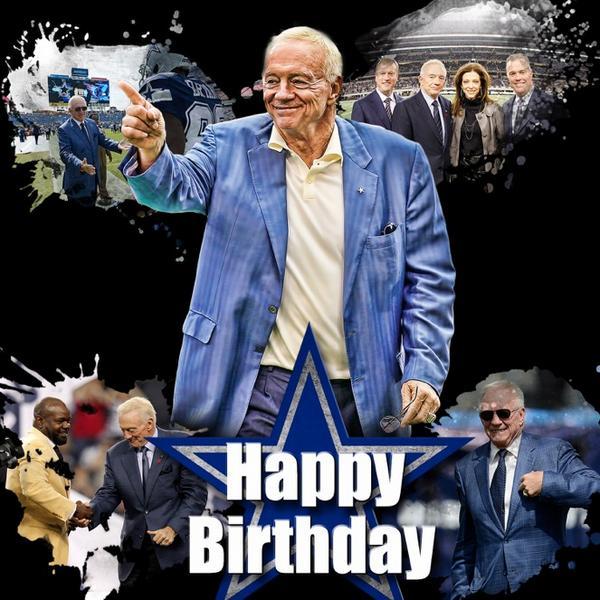 Dallas Cowboys On Twitter Happy Birthday Mr Jones Http T Co C60egg9nsr