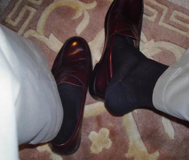 Dresssox On Twitter Weejuns And Thin Italian Socks T Co Wfadtqw