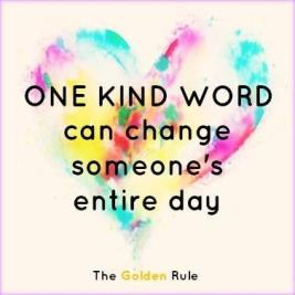 Image result for kind word goes a long way