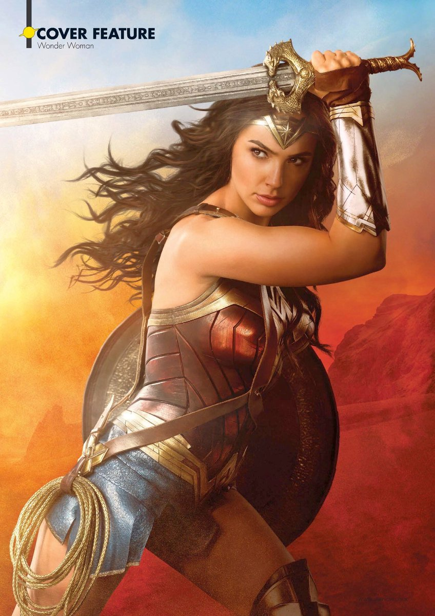 New Wonder Woman Poster And Cover Revealed