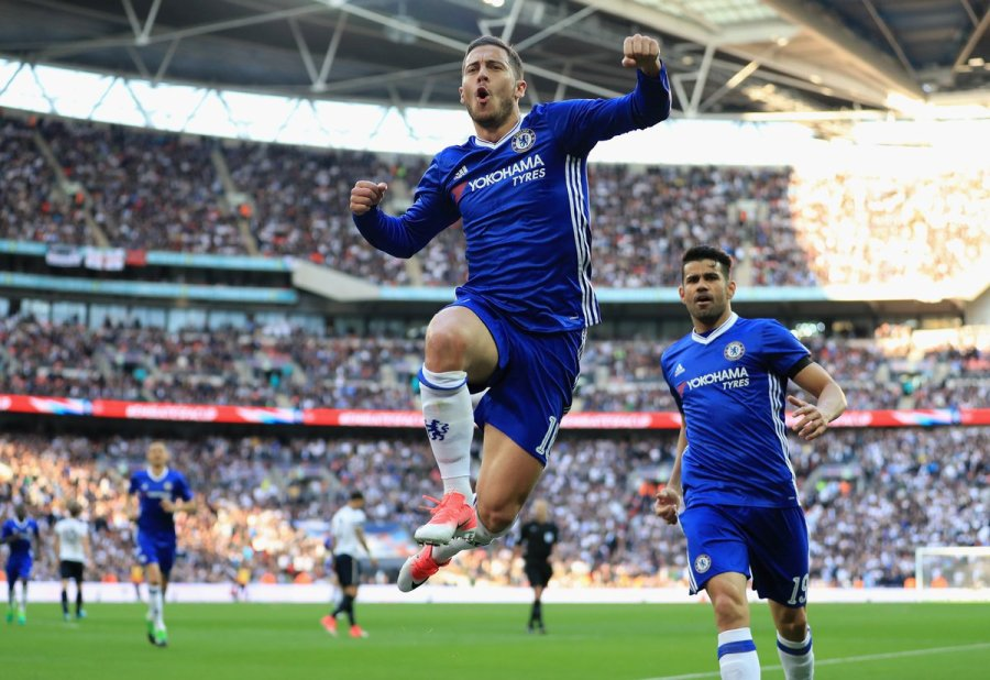 Image result for Chelsea 4-2 Tottenham FA Cup