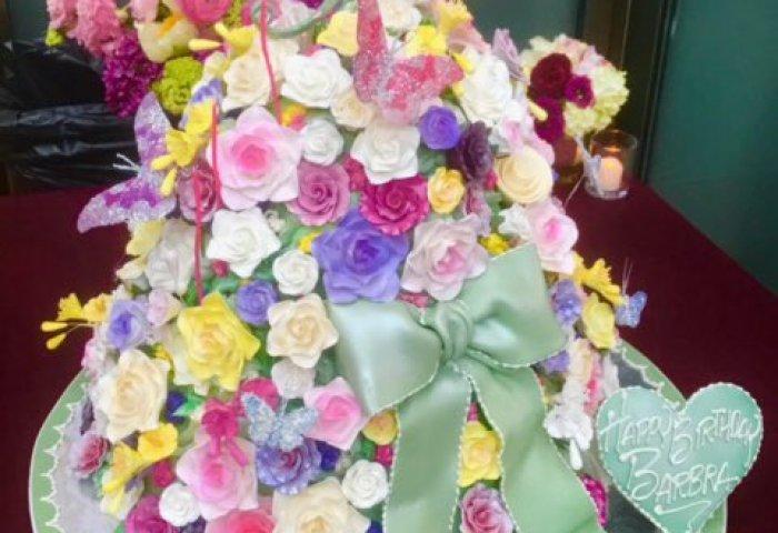 Barbra Streisand On Twitter A Beautiful Birthday Cake Thanks For