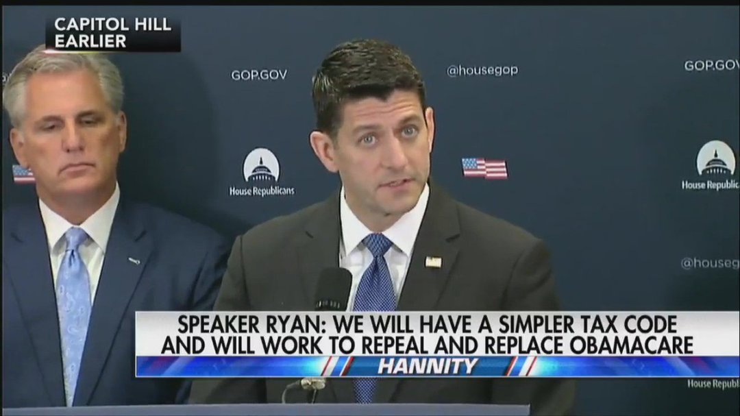 """.@SpeakerRyan: """"There is a lot of work left to do, but under [Pres. #Trump's] leadership, this unified government has made a solid start."""""""