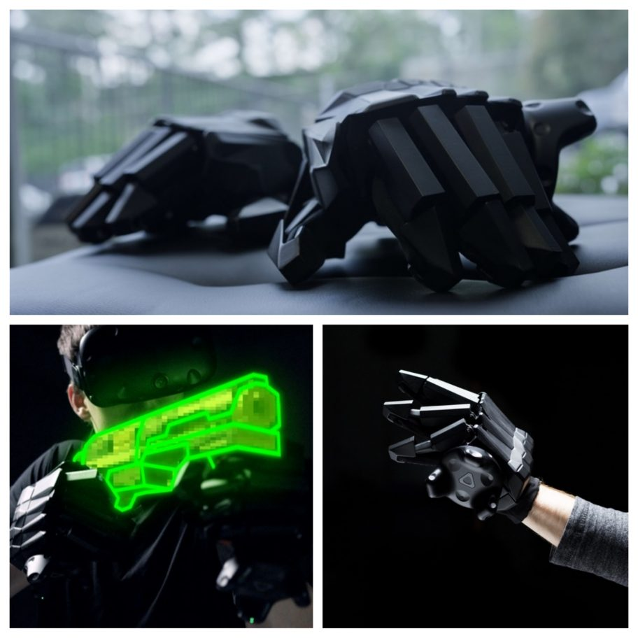 Kickstarter project VRgluv plans to bring #VR a force feedback glove. via @The_CSJR