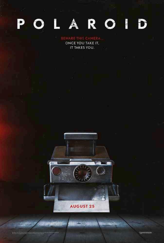 Dimension Films Unveiled Polaroid Poster