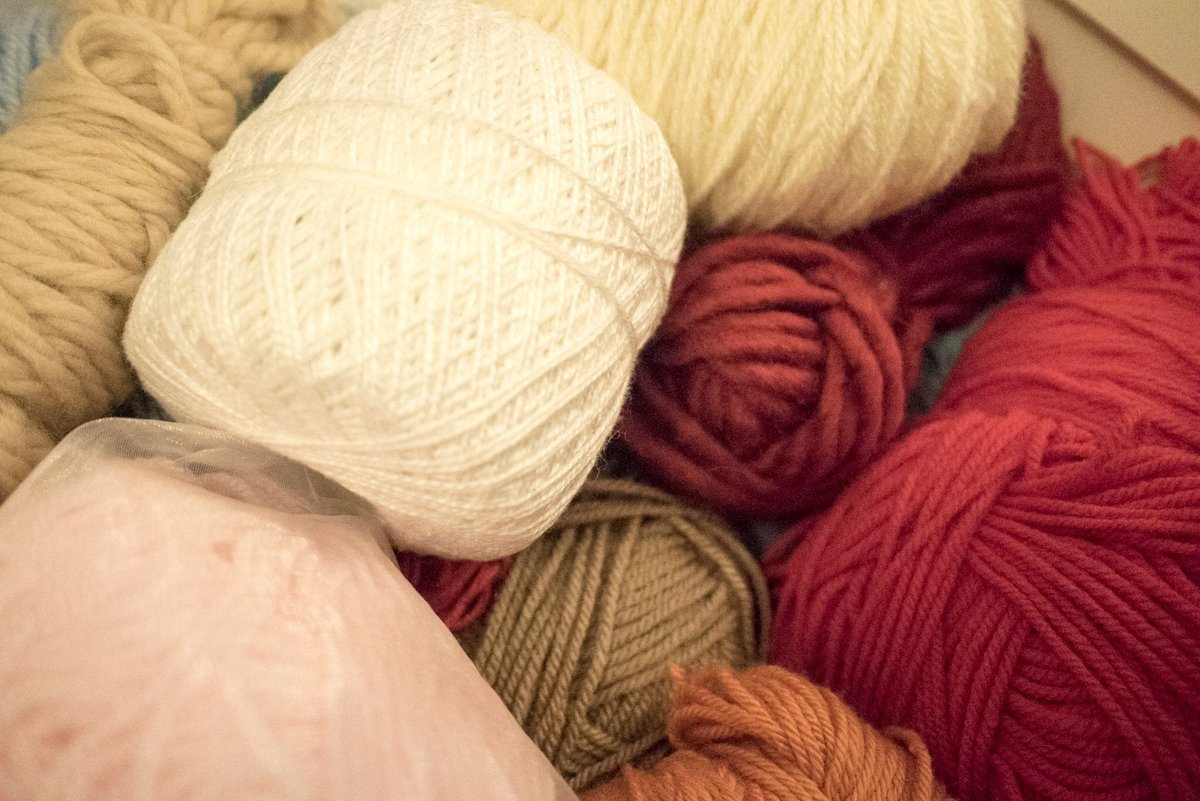 We have a lot of wool, this is just one of *many* draws which @twistedyarnsco has #WoolvsCameras