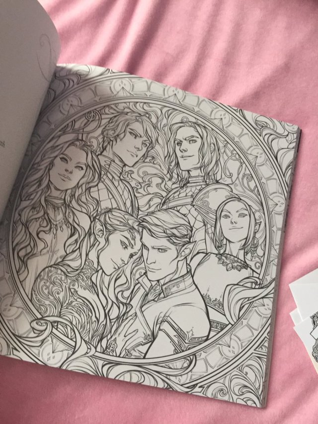 acotarcoloringbook hashtag on Twitter